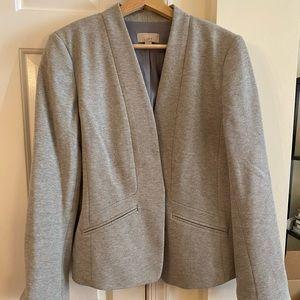 LOFT Collarless Blazer - Size 12